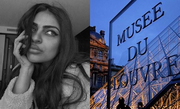 Modelo denuncia al Museo del Louvre por cerrarle las puertas