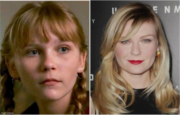 Kirsten Dunst antes y después