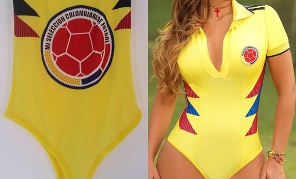 ¡A la orden el body de la Selección Colombia!