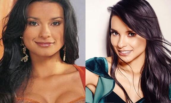 Antes y después Paola Rey