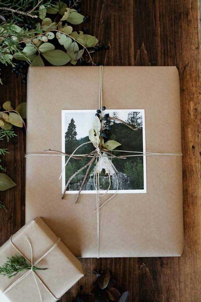 décima idea de cómo envolver regalos para navidad