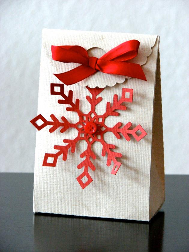 séptima idea de cómo envolver regalos para navidad