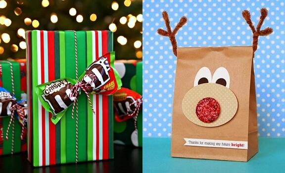 Ejemplos de Cómo envolver regalos