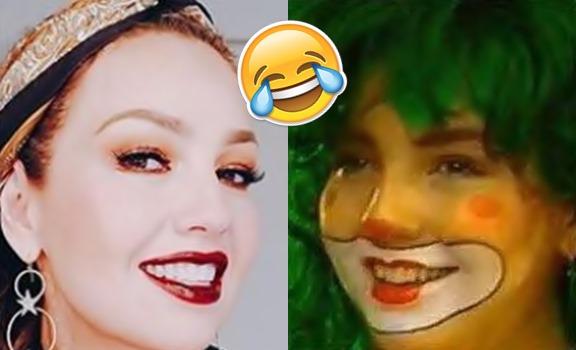 De payasa no bajan a Thalía en Instagram Valla