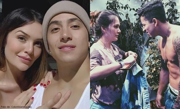 Fotos del ex novio de Lina Tejeiro con ella
