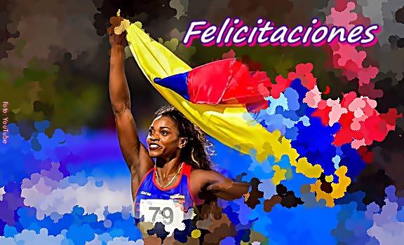 Felicitaciones Caterine Ibargüen es la mejor atleta del mundo