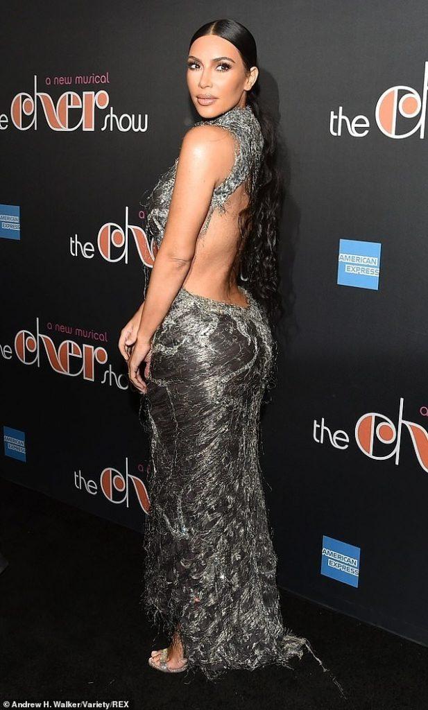 vestido de Kim Kardashian