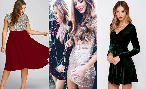 Los 10 mejores vestidos para Navidad... ¡Espectaculares!