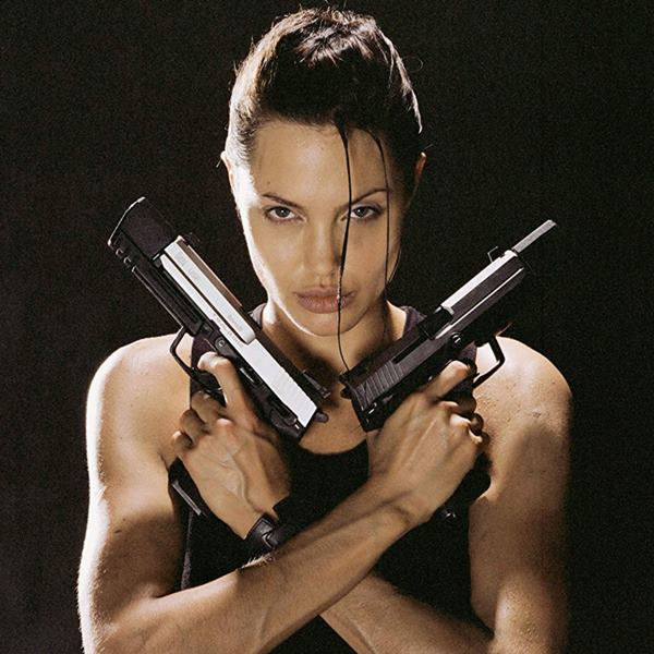 Imagen de Lara Croft, de Tomb Raider, personaje interpretado por Angelina Jolie