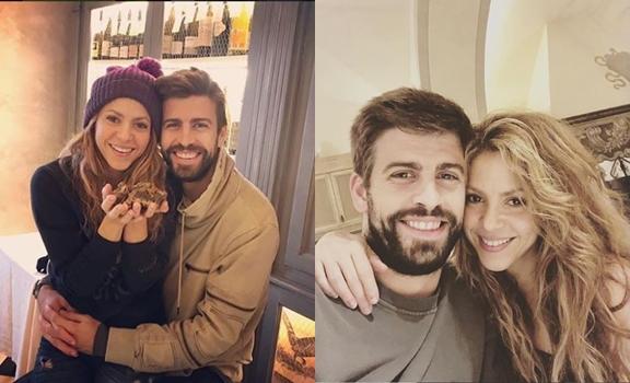 Fotos de Shakira y Piqué