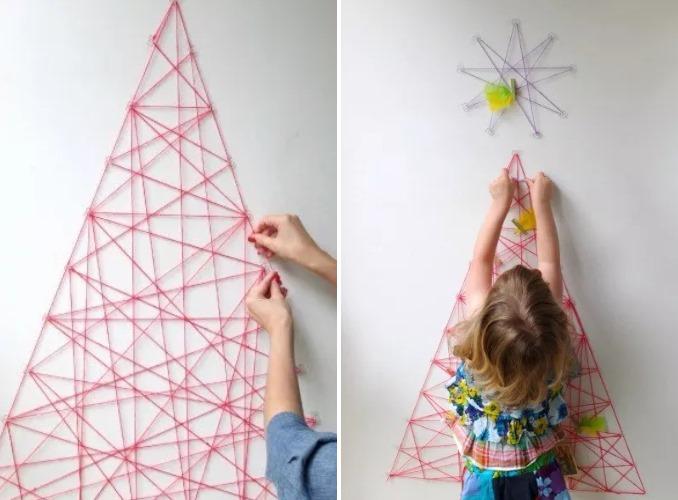 Top 10 de Arbolitos de Navidad unicos y creativos lana tejida