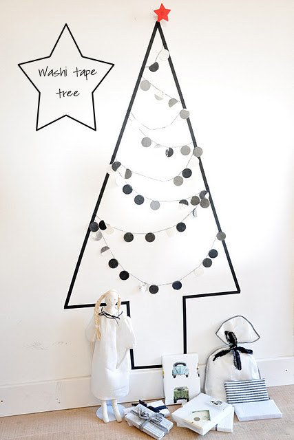 Top 10 de Arbolitos de Navidad unicos y creativos cinta aislante