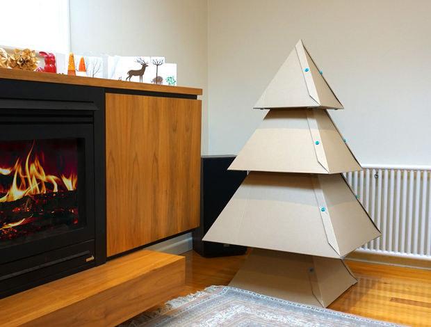 Top 10 de Arbolitos de Navidad unicos y creativos cajas de cartón
