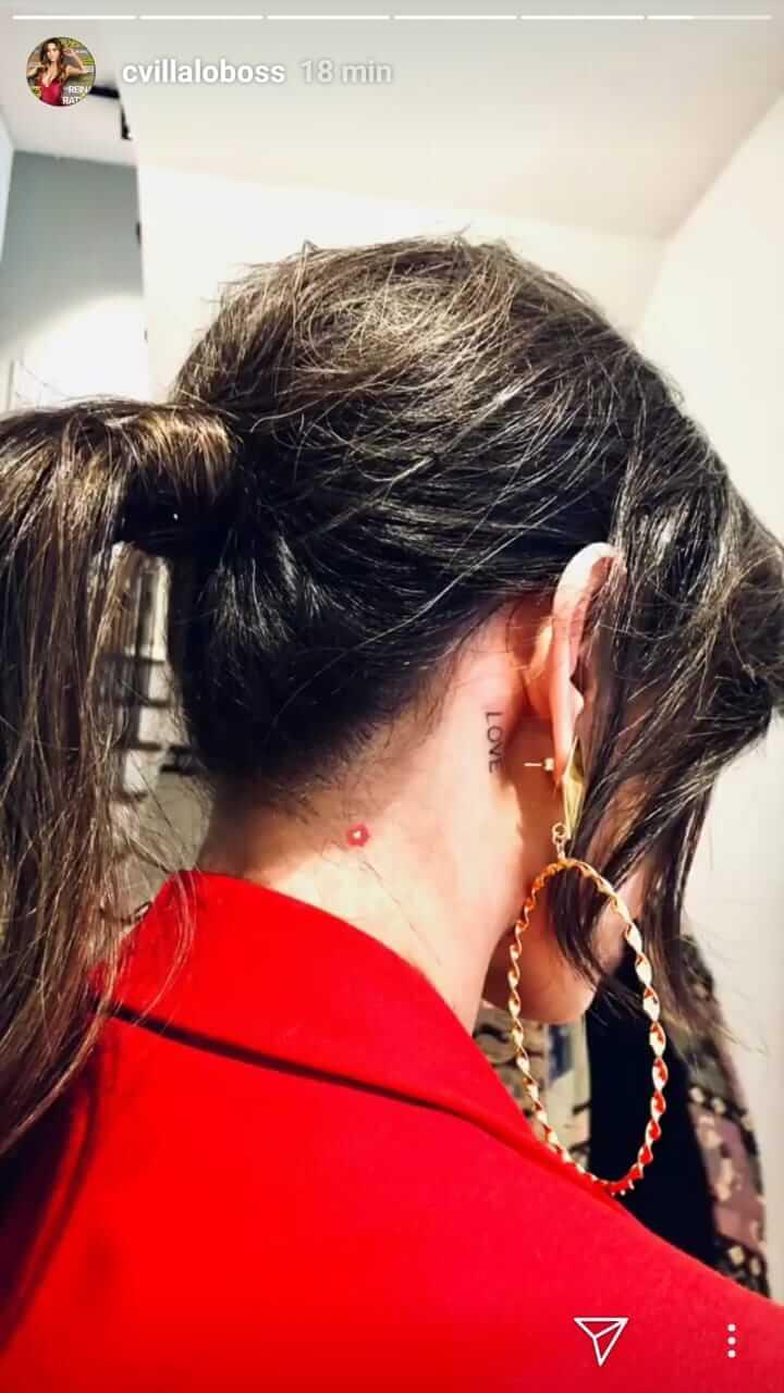 El Tatuaje De Carmen Villalobos Que Tenía Bien Escondido Vibra