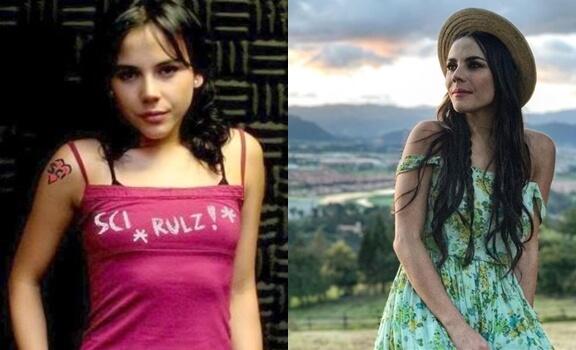 Antes y después Actrices de Sin senos sí hay paraíso: temporada 3: Carolina Gaitán