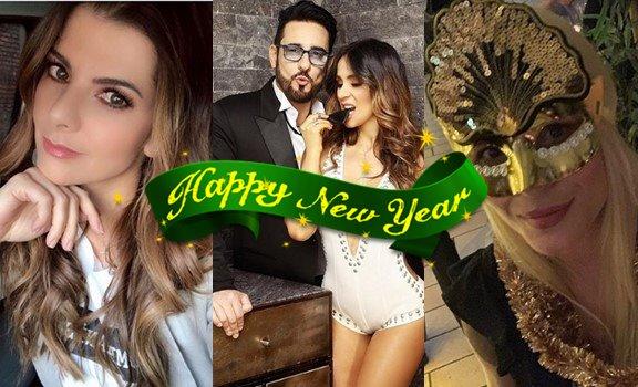"""Así dijeron """"feliz Año Nuevo"""" los famosos más queridos"""