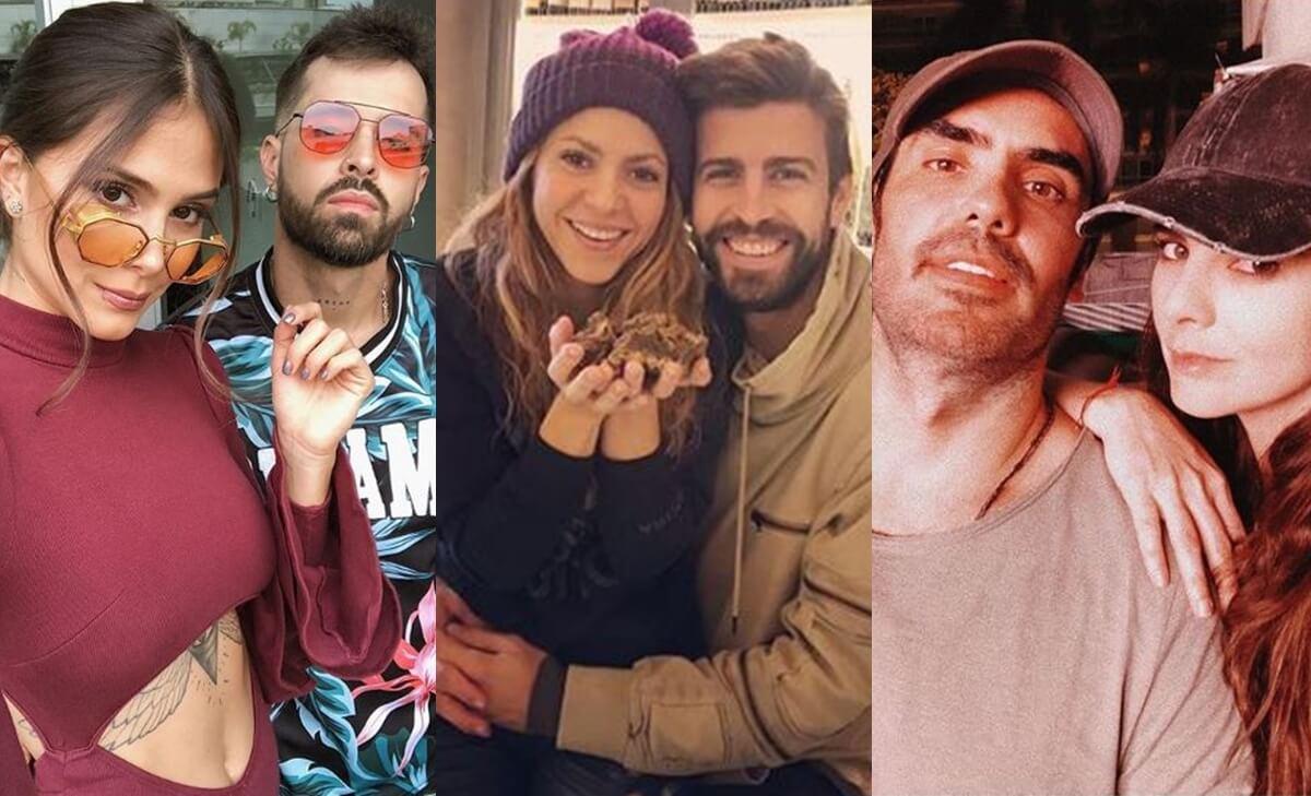 Fotos de las parejas de famosas colombianas