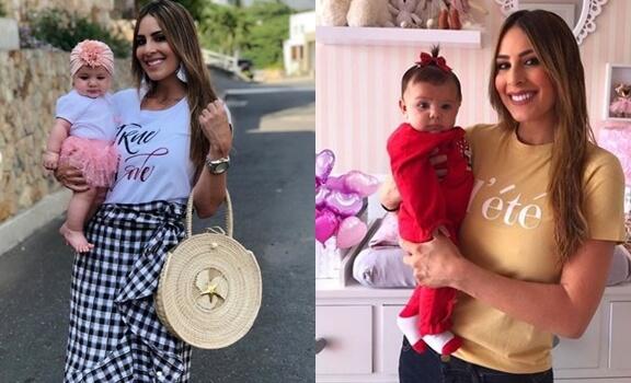 Fotos de Carolina Soto y su hija