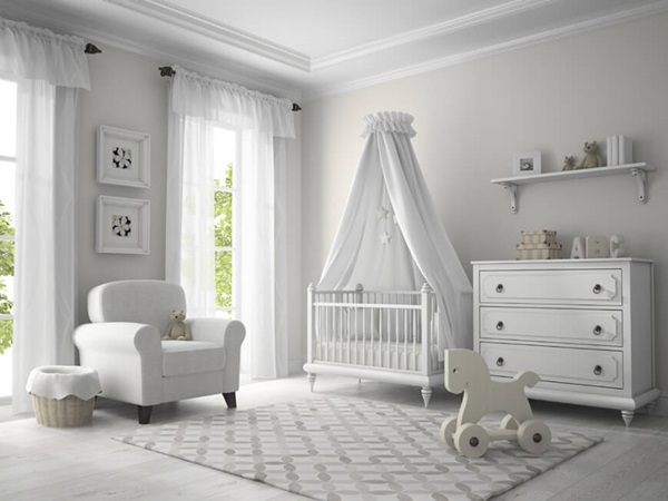Así sería el cuarto del bebé de Meghan Markle