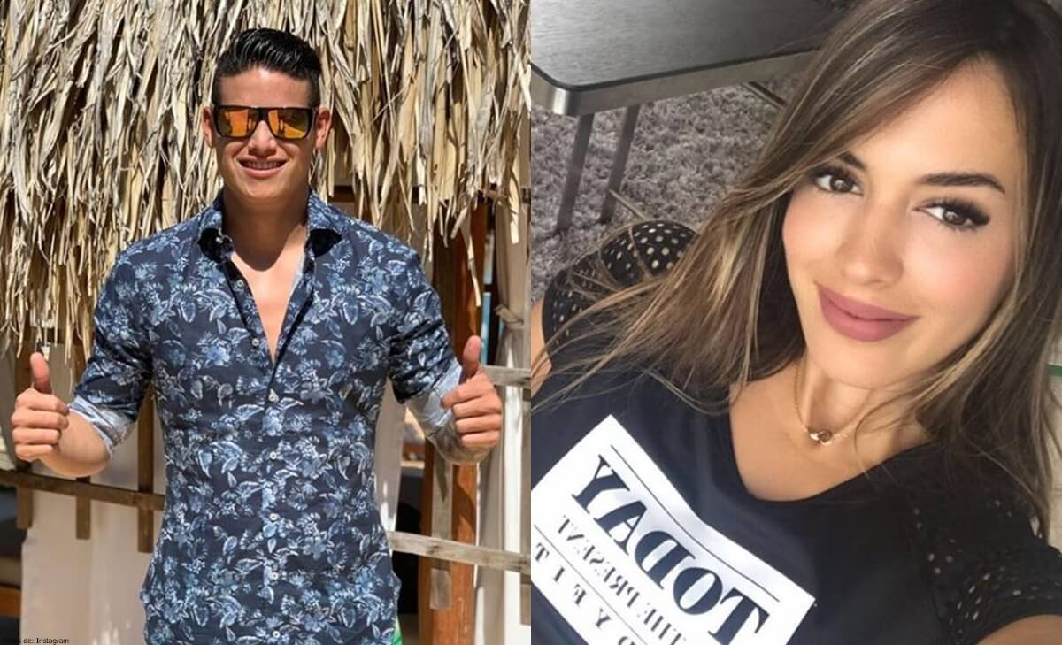 James Rodríguez y Shannon de Lima confirman su relación