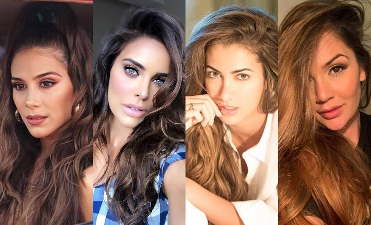 Las mejores colas de famosas colombianas antes y después