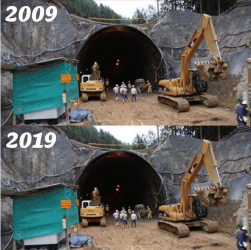 Los mejores memes del nuevo video viral #10YearChallenge túnel