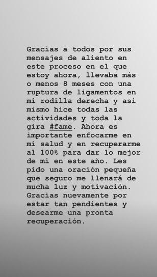 Mensaje de Maluma