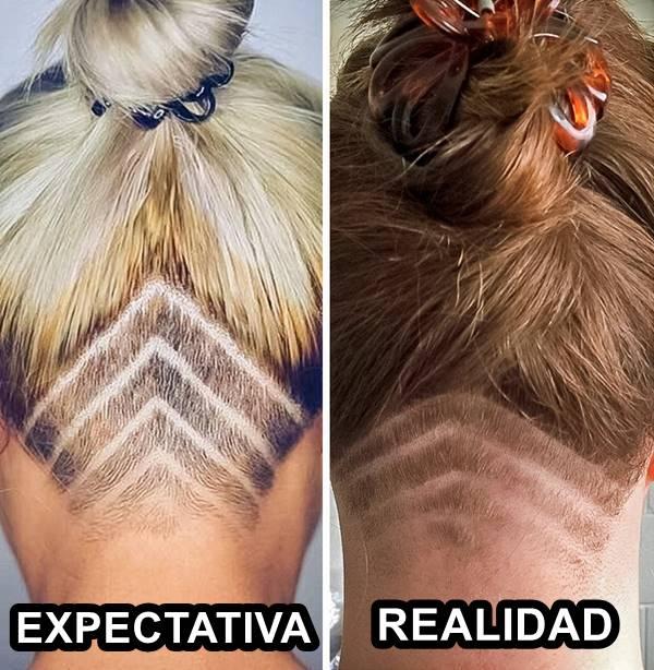 Peores de cortes de cabello: Por esto es que no hay que dárselas de artista con el pelo.