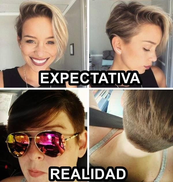 Peores cortes de cabello: Cuando le muestras la foto al peluquero y él hace lo que se le da la gana.