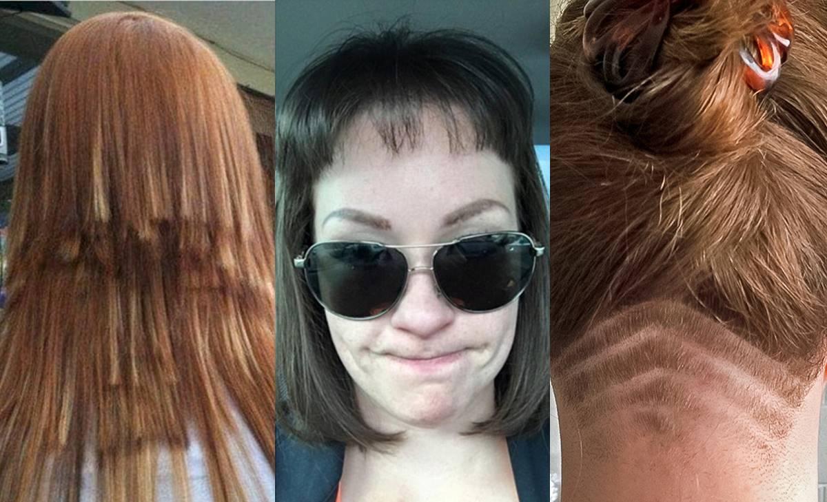 Peores imágenes de cortes de cabello. ¿Qué les pasó?