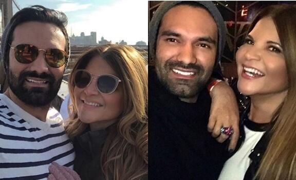 Fotos de Diva Jessurum con su pareja