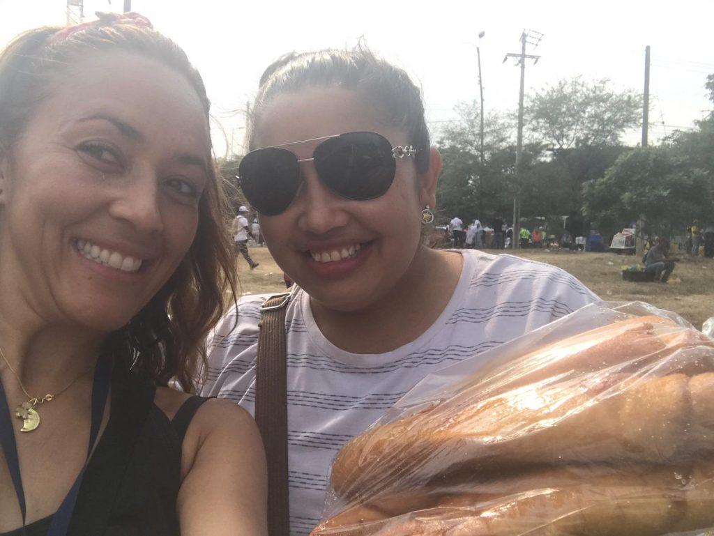 Así sobreviven las mujeres en la frontera Lady