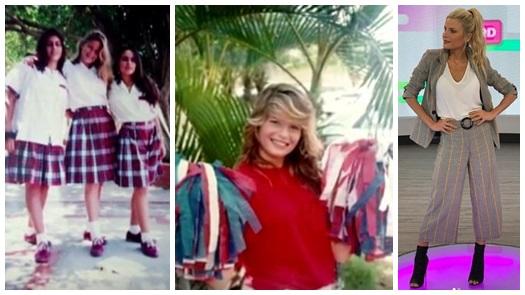 Foto de Mary Méndez en uniforme de colegio