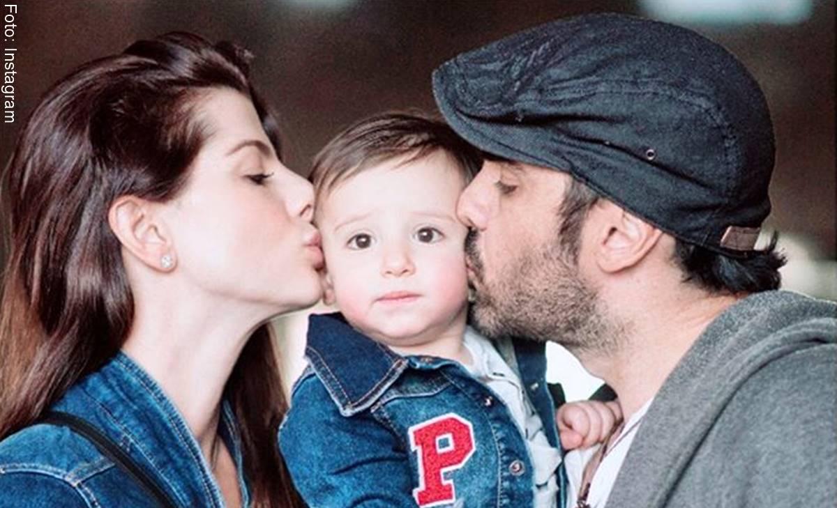 Graves peligros de besar a los bebés en la boca