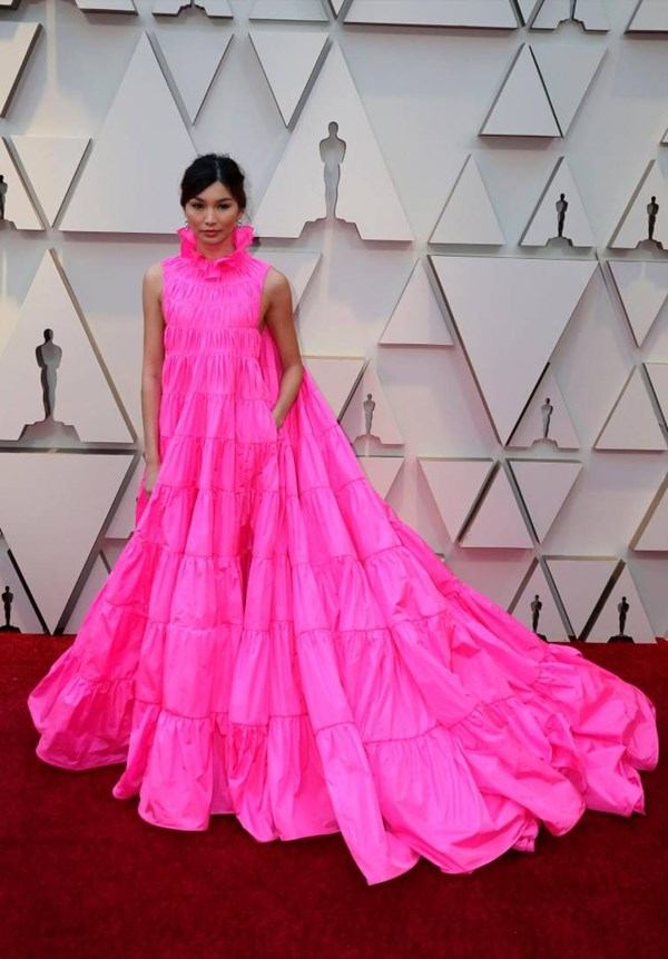 Vestido Gemma Chan
