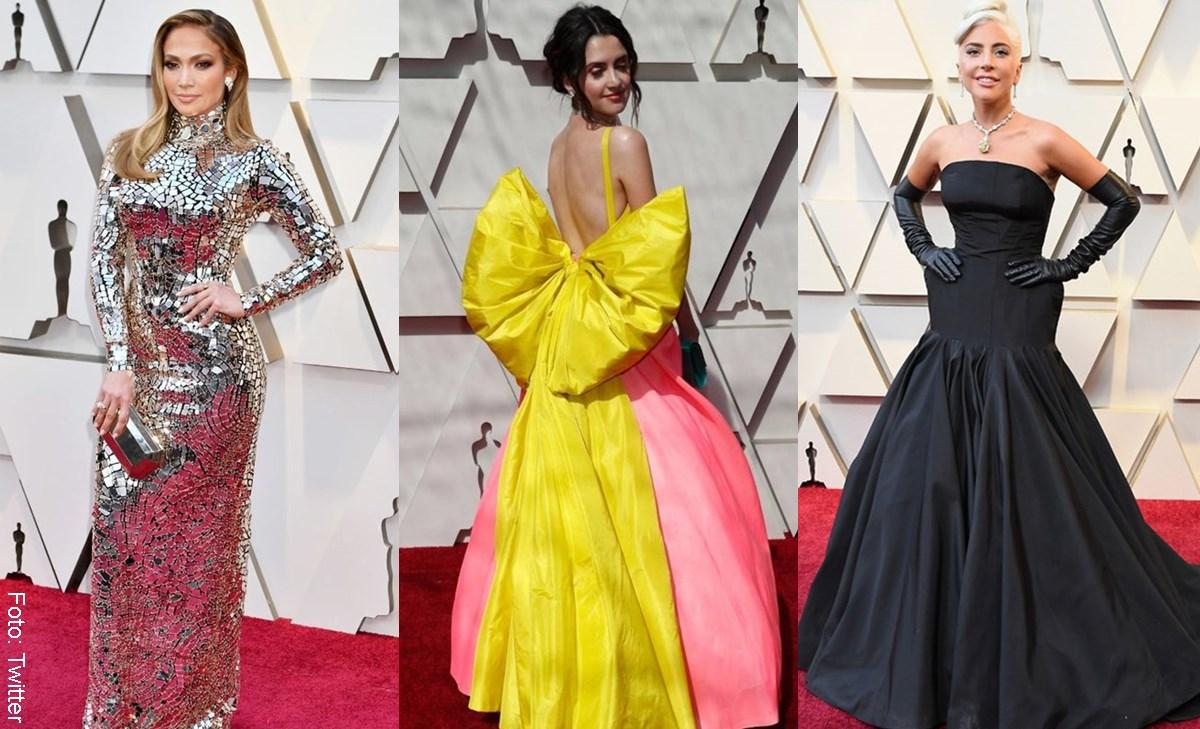 ¿Quiénes fueron las mejor y peor vestidas de los Óscar 2019?
