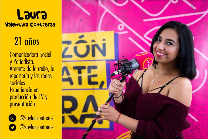 10 finalistas de La Nueva Voz Vibra Laura