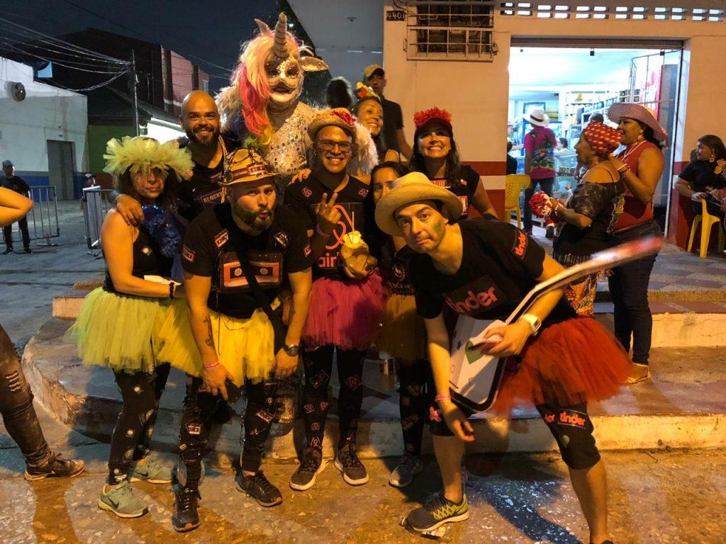 Karen y Toño se fueron para el Carnaval de Barranquilla Grupo