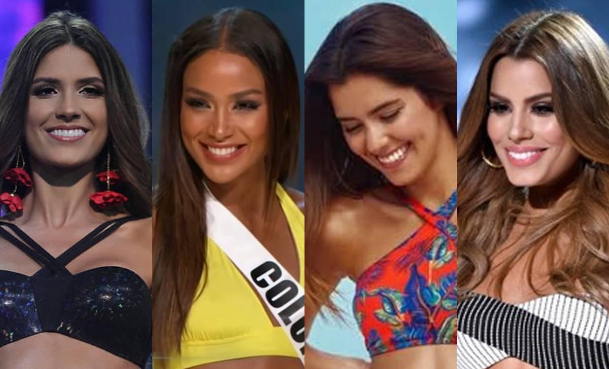 Batalla de bikinazos entre reinas de belleza de Colombia