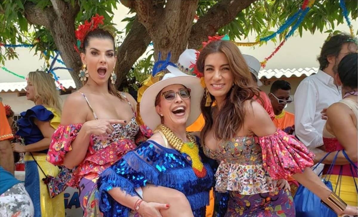 Famosas que deslumbraron en trajes típicos del Carnaval de Barranquilla