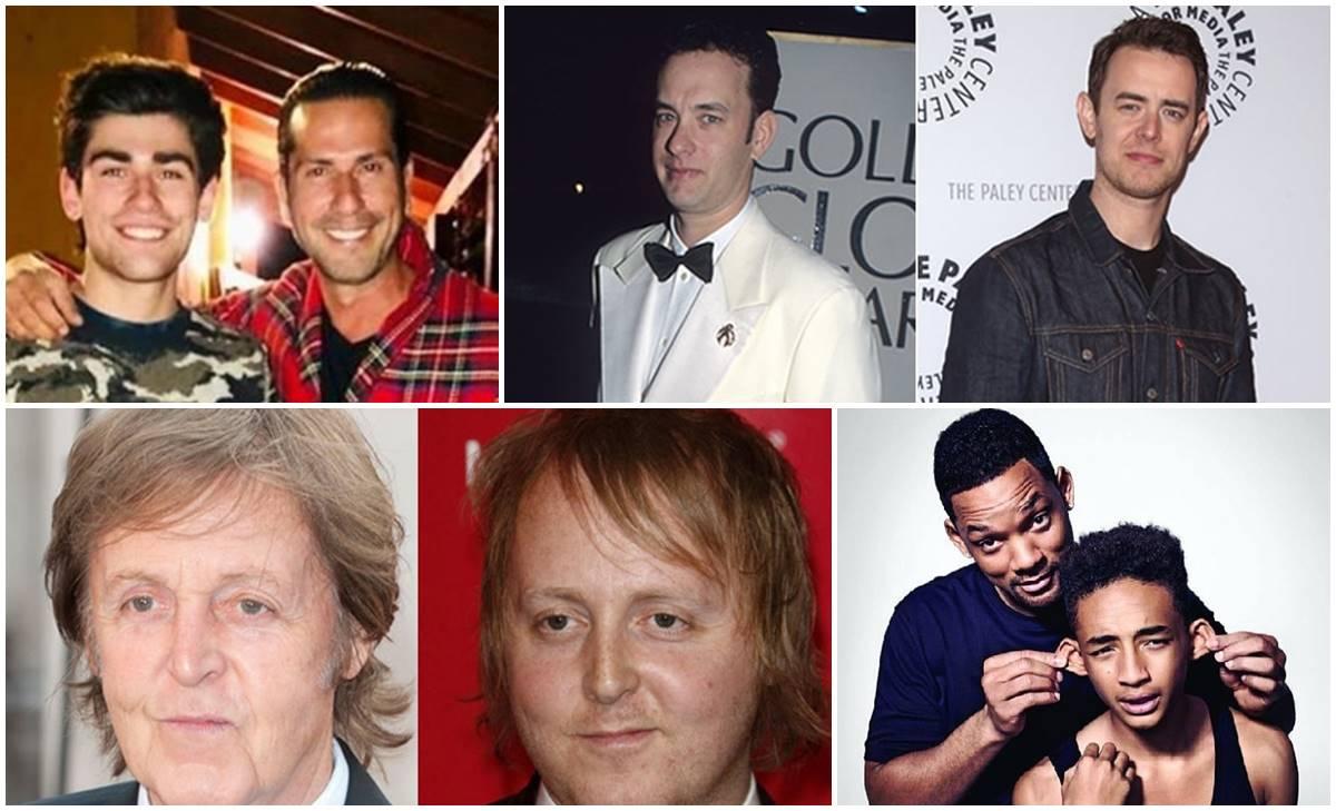 Hijos de famosos parecidos a sus padres... ¡Parecen negados!