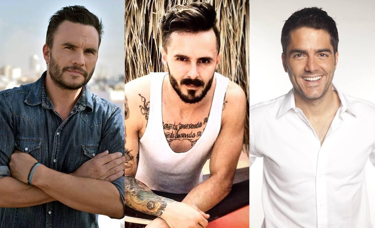 Las mejores imágenes de hombres guapos y famosos... ¡Sin ropa!