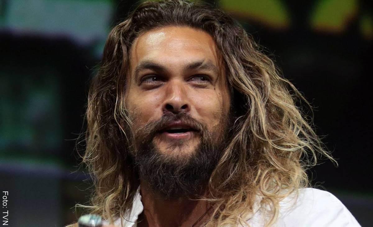 Así se ve sin barba Jason Momoa de Game of Thrones y Aquaman
