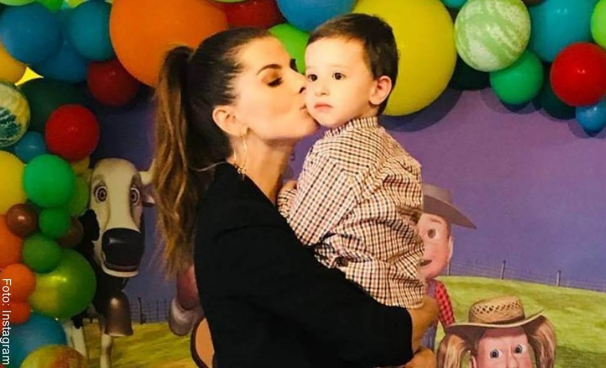 Carolina Cruz y su hijo Matías descrestaron con este detallazo