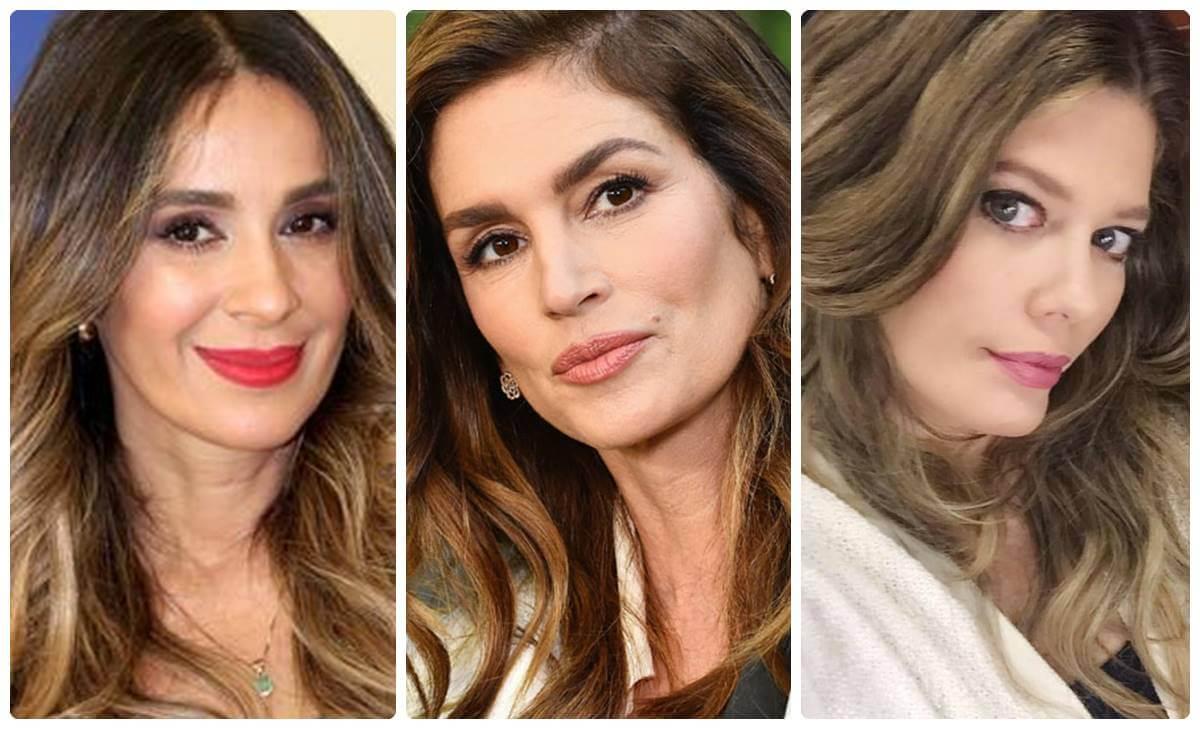 Famosas mujeres que aparentan menos edad de la que tienen