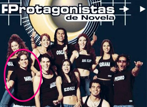 Daniel Arenas en Protagonistas de Novela