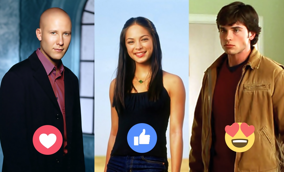 Mira a los actores de Smallville su antes y despues