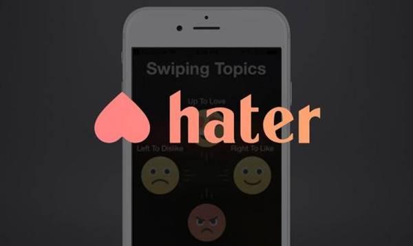 Imagen de la app para conseguir pareja Hater