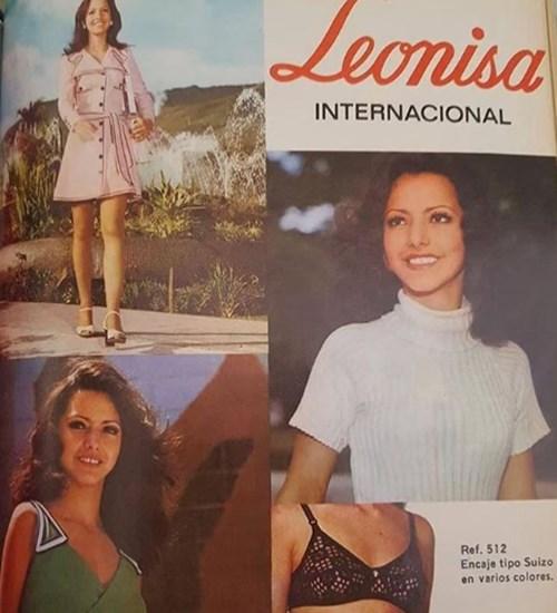 Luzma, mamá de Carolina Cruz, cuando era modelo