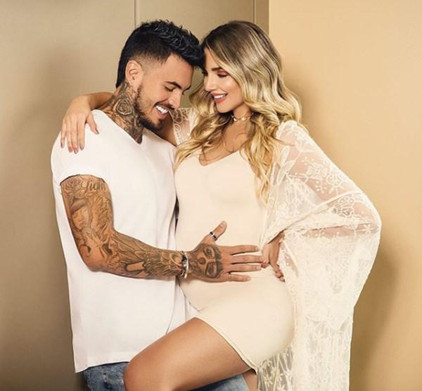 Mateo Carvajal y Melina Ramírez fotos